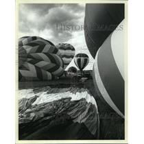 1986 Press Photo 11th annual Great Wisconsin Dells Balloon Rally - mja00685