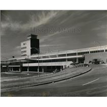 1958 Press Photo New $4,400,000 Portland International Airport building opened.