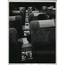 1965 Press Photo American and Continental airlines' answer to in-flight