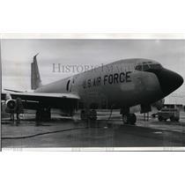 1972 Press Photo KC-135 Tanker - spa21800