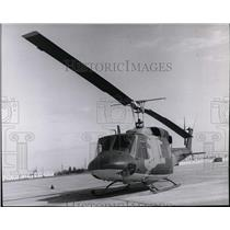 1971 Press Photo Helicopter - spa22924