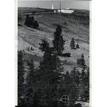 1981 Press Photo Cascade Airways Flight 201 crashed while tuned to radio beacon