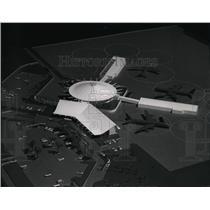 1963 Press Photo Spokane International Airport model - spa24429