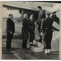 1947 Press Photo Aleman's son and namesake who accompanied his father