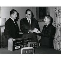 1966 Press Photo Spokane International Airport - spa22012