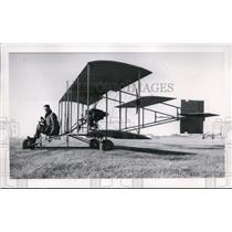 1965 Press Photo 1912 Curtiss Pusher Replica at Spokane International Airport