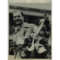 1934 Press Photo C.W.A. Scott and T. Campbell Black - ora82218