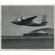 Press Photo Aircraft in mid flight - mja03886