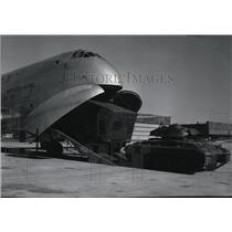 1952 Press Photo Mammoth Transport Designed by Douglas Long Beach Plant