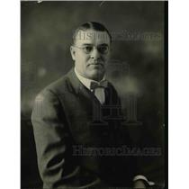 1924 Press Photo JH DePew Chief Announcer & Station Manager for WCBD - nef02114