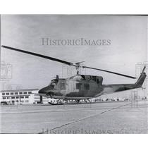 1971 Press Photo Helicopter - spa22925