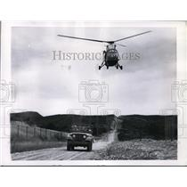 1960 Press Photo Helicopter - spa22916