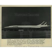 1976 Press Photo The F-SVFA, Air France - mja04207