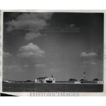 1956 Press Photo The Rock County airport on Highway 51 - mja01866