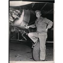 1950 Press Photo Roy Shreck - spa19360