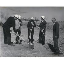1963 Press Photo Construction on terminal at Spokane International Airport