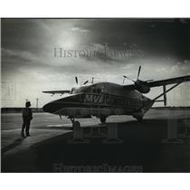 1981 Press Photo MVA Airlines- Little airline, big dreams - mja04170