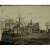 1910 Press Photo Horace Andrews home- East Boat & Euclid.