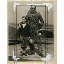 1929 Press Photo Captain Einar Paul Lundburg - ney10215