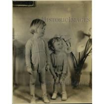1934 Press Photo F. Donald Bird's children - mja15913