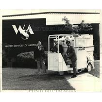 1987 Press Photo WSA executives  - mja18864