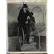 1934 Press Photo Former Governor Phil La Follette  - mja15190