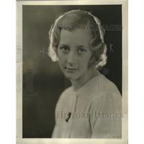 1932 Press Photo Antoinette Smith - mja18068