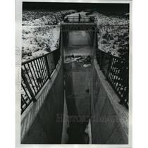 1917 Press Photo Dam would feed water to the creek bed at Kickapoo River Valley