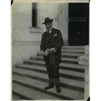 1922 Press Photo Kansas Governor Henry T Allen attends conference - nef02256