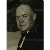 1925 Press Photo H.A. Snow, Explorer - nee98232