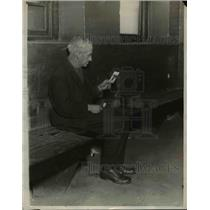 1924 Press Photo George Doty, 72 years old in Jail - nef04751