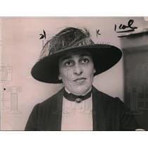1922 Press Photo Amy Steinhart - nee97611
