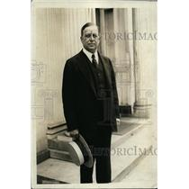 1923 Press Photo Charles Beecher Warren, U.S Ambassador to Japan at White House