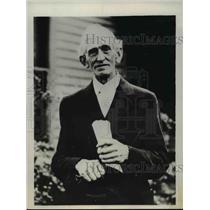 1931 Press Photo Father of Los Angeles Trunk Murder Suspect Winne Ruth Judd