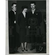1934 Press Photo Mr.and Mrs.Robert Gordon Switz alleged Spy of French Documents