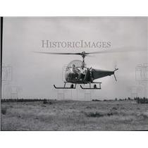1951 Press Photo Aviation Helicopter - spa22939