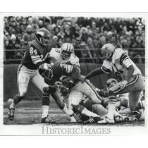 Press Photo Dallas Cowboys vs Minnesota Vikings at football action - net14897