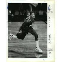 1967 Press Photo Denver's Fat Lever had an All-Star night. - orc14946