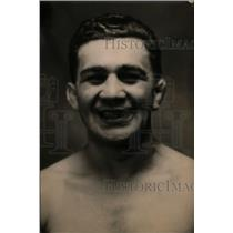 1920 Press Photo Boxer Jack Wolfe in training for a bout - net09985