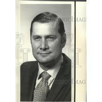 1961 Press Photo Boeing Executive E.H. Boullioun - spa26675