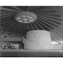 1985 Press Photo Spokane's International Airport Spacious Design - spa28223