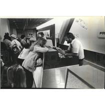 1981 Press Photo Spokane International Airport Terminal - spa28247