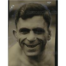 1924 Press Photo Louis Pergandos- Greek Light Heavyweight Wrestler - orc15256