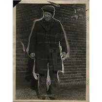 1922 Press Photo Frederick R Kid Wedge boxer, scholar & gentleman - net10873
