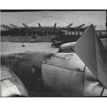 1985 Press Photo Spokane International Airport Terminal - spa28249