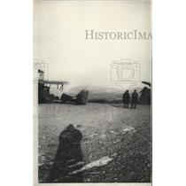 1931 Press Photo Nome Alaska Summer Airport Where Round the World Fliers Post