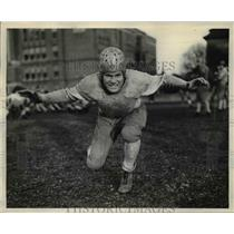 1937 Press Photo Brad Meyer-guard from Grant High School - orc11627