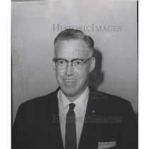1963 Press Photo George White Northwest Airlines - spa27395