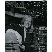 1980 Press Photo United Air Lines Pilot Gail Garski - spp00175
