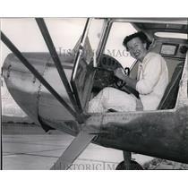 1955 Press Photo Yakima Pilot Gini Richardson - spa18470